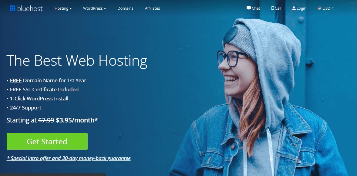 bluehost-website