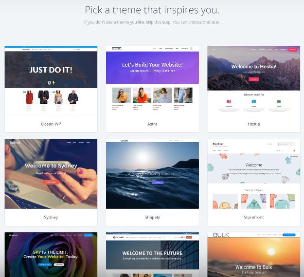 pick-a-wordpress-theme
