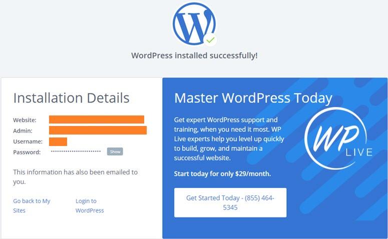 wordpress-installation-successful